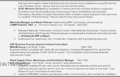 Customer Service Duties For Resume And 25 Examples Busser Job Description For Resume