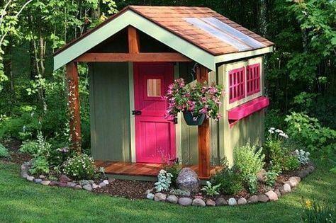 33 Affordable Garden Shed Ideas Shed Landscaping Shed Design