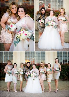 {Real Plus Size Wedding Video} Tulle, Sparkle, Sequin and a Happy Ever After
