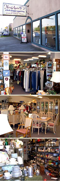 New And Again Thrift Shoppe In Everett, WA Is Run By The Non Profit Agency  Domestic Violence Services Of Snohomish County. Tiny And Overrun With Eu2026