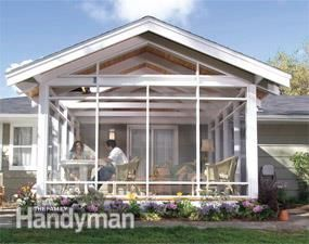 You Can Add A Spacious, Airy Outdoor Porch To Your Home. Weu0027ll Show You  Everything You Need To Complete The Project Yourself, Including How To  Frame The ...