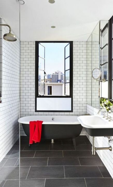 Bath Room Walls Tile Ideas Grout 41 Ideas For 2019 Black Bathroom Floor Black Bathroom Bathrooms Remodel