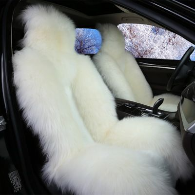 Buy Wholesale Winter Long Wool Auto Cushion Universal Genuine Sheepskin Car Seat Covers Front Cover - White from Chinese Wholesaler Bling Car Accessories, Car Interior Accessories, Sheepskin Car Seat Covers, Best Cars For Teens, Car Covers, Cute Car Seat Covers, Car Interior Decor, Girly Car, Lux Cars