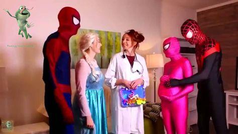 Superheroes in Real Life short stories for kids Spiderman funny pranks