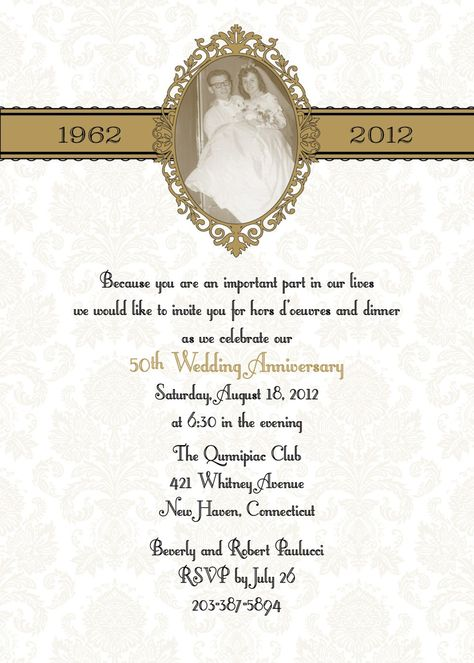 50th Anniversary Party Ideas 50th Anniversary Party Phot 50th