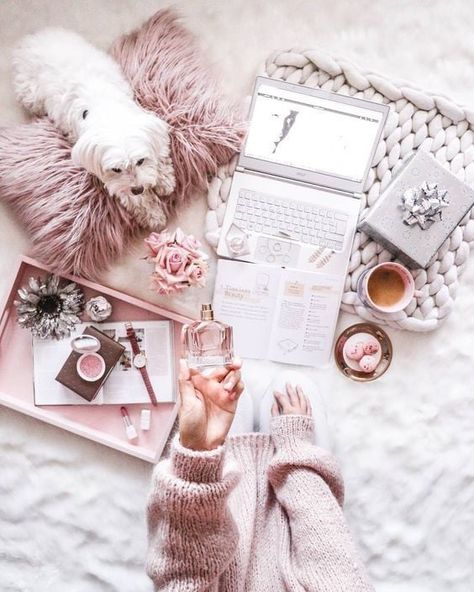 theres just something about an arrangement of items and a PUPPY thats just so incredibly beautiful. Pictures like these really are my favourite  cute | Puppy | Dog | animal | pets
