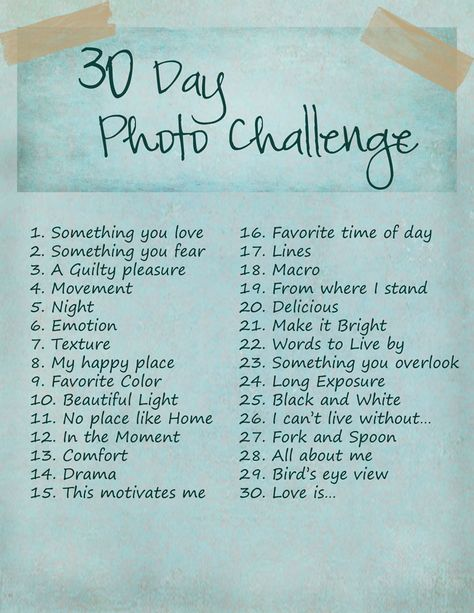 It's happening… {30 Day Photo Challenge}   Jackie Goudy