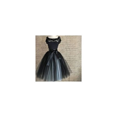 519d7efd3f Black and tiffany blue aqua tutu skirt for women. Ballet glamour. ❤ liked on