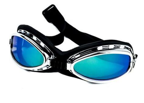 aa379b0ba1 Bug-Eye-Alien-Aviator-Goggles-Biker-Sunglasses-Steampunk -Anime-Cosplay-Motorcycl