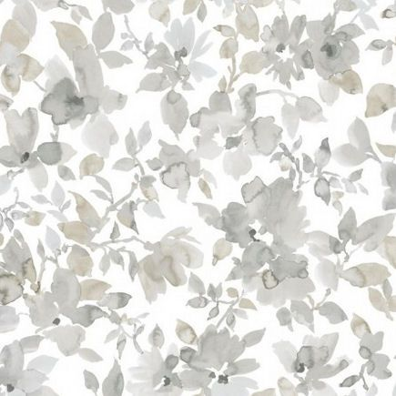 Watercolor Natural Floral Peel And Stick Wallpaper Wall Sticker