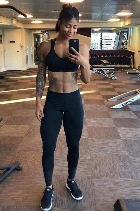 Weight loss workouts - The Key to Actually Losing Weight, According to Fitness Guru Massy Arias – Weight loss workouts Fit Women Bodies, Female Bodies, Crossfit Body, Fitness Inspiration Body, Black Fitness, Fitness Motivation Pictures, Muscular Women, Muscle Girls, Fit Chicks