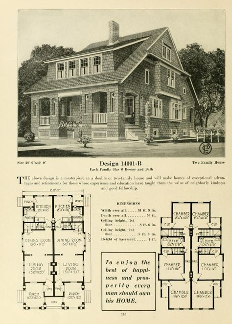 Central S Book Of Homes House Plans With Pictures House Plans Vintage House Plans