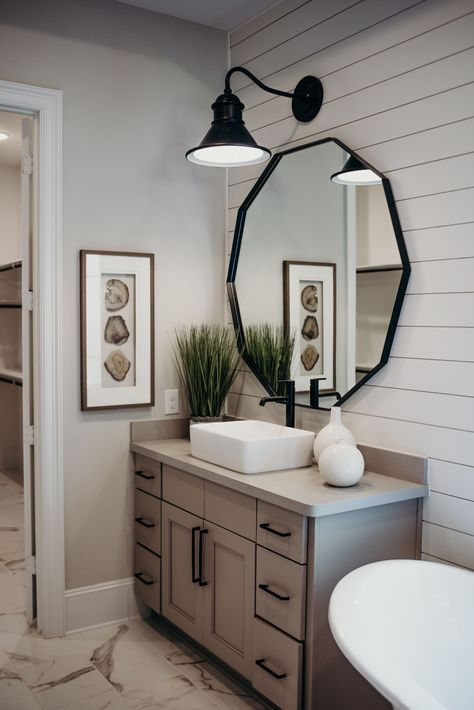 If you are looking for Farmhouse Bathroom Vanity Decor Ideas, You come to the right place. Below are the Farmhouse Bathroom Vanity Decor Ideas. Bathroom Vanity Decor, Bathroom Interior, Remodel Bathroom, Bathroom Makeovers, Bathroom Cabinets, Dyi Bathroom, Budget Bathroom, Shower Remodel, Bathroom Cleaning