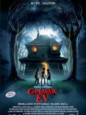 Canavar Ev Indir Monster House 2006 Turkce Dublaj 480p Canavarlar Animasyon Filmler Film