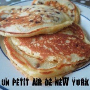 Pancakes aux pépites de chocolat | Pepite chocolat, Recettes de pancake,  Pancakes