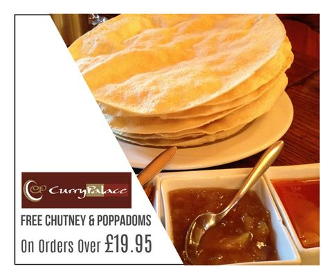 Order Indian Takeaway Food At Curry Palace In Cottenham