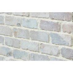 Antico Elements Faux Brick Panels Cotton 47 5 In X 27 25 In Panel Brick Veneer Lowes Com Faux Brick Panels Brick Veneer Faux Brick Wall Panels