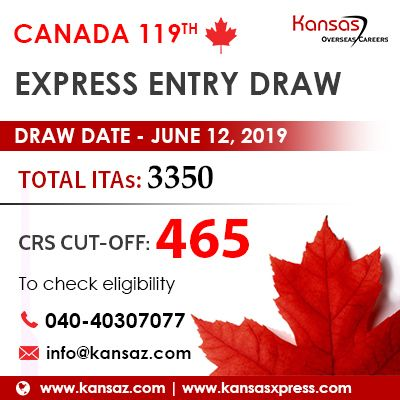 Canada Express Entry Latest Draw 2020 Rounds Of Invitations Expressions Canada Draw