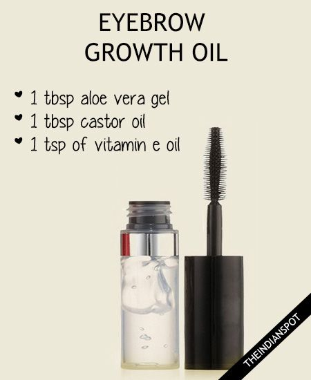 TOP HOME REMEDIES FOR FASTER EYEBROW GROWTH Eye Brows - Get thicker eye brows naturally eyebrow growing tips