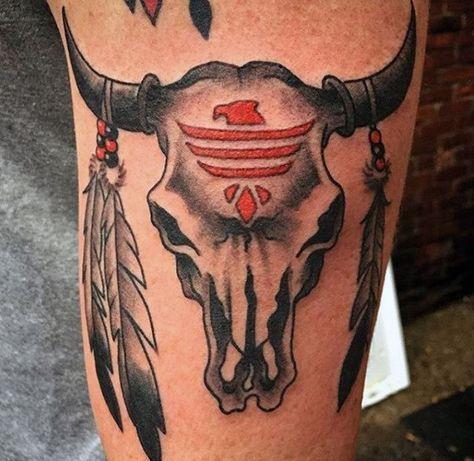 Top 93 Bull Skull Tattoo Ideas 2020 Inspiration Guide Bull Skull Tattoos Cow Skull Tattoos Skull Tattoos