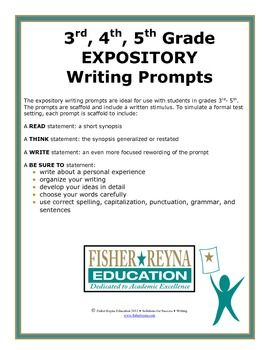 Expository Writing Prompt Grade 3 5 Staar And Cc Aligned Narrative Personal Essay Topics
