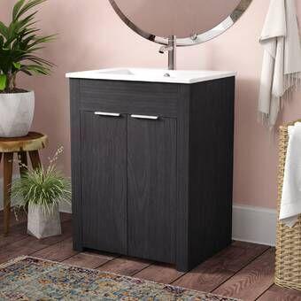 Fraizer Teak 17 Single Bathroom Vanity Set Single Bathroom Vanity Bathroom Vanity Vanity Set