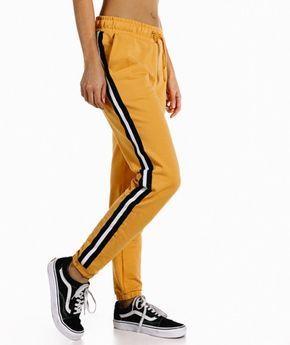 Joggers Mostaza Bloques Ropa Nike Mujer Moda De Ropa Pantalones De Moda