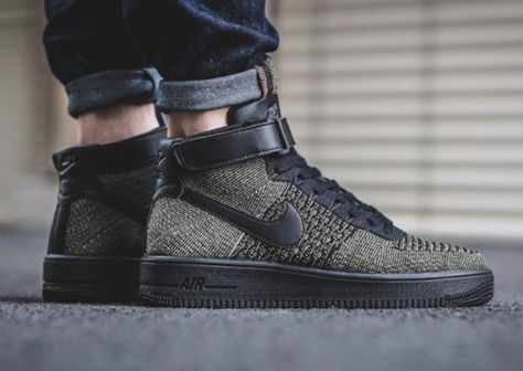 Nike Air Force 1 Ultra Flyknit Mid Palm Green Sneaker Bar