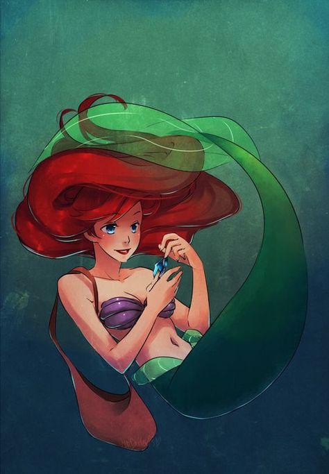 die 11 besten bilder zu little mermaid | disney kunst, die
