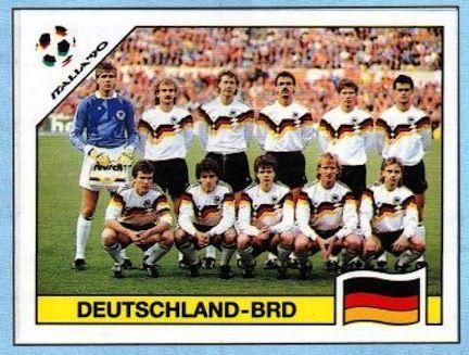 Fussball Wm Italien 1990 Dfb Nationalmannschaft Fussball
