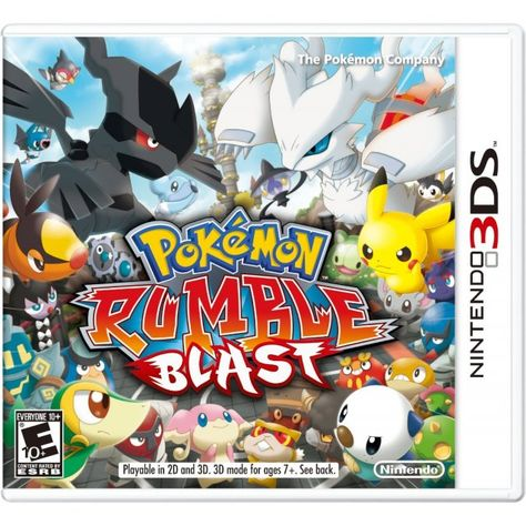 Pokemon Rumble Blast Mit Bildern Alle Pokemon 3d Pokemon Nintendo 3ds