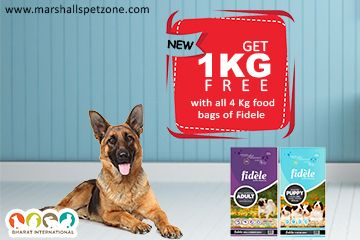 Hello Pet Lovers How Are You Get 1 Kg Free With All 4 Kg Food