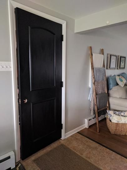 Ez Door 28 In 30 In And 32 In Width Interior Door Self Adhering Decorative Frame Kit Ezd Fr 30 The Home Depot In 2020 Exterior Door Frame Panel Doors Oak Doors