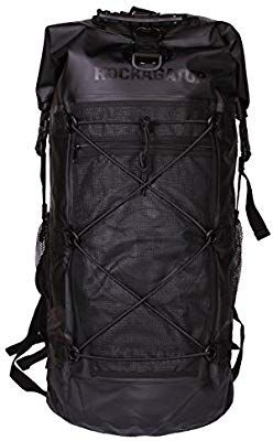 68ecbe1b Amazon.com : 90 Liter Waterproof Backpack by Rockagator | Kanarra Series  Massive 90L Water Proof Portage Pack | For Camping, Canoeing, Hunting in  the Wet ...