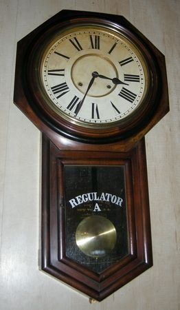 Regulator Ansonia Wall Clock
