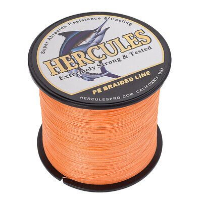 500M Agepoch Strong Dyneema Spectra Extreme PE Braided Sea Fishing Line 4 Strand