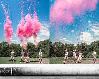 Confettipowderstreamers Gender Reveal Cannon Smoke Powder Etsy Gender Reveal Gender Reveal Pictures Reveal Pictures