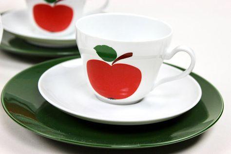 5406a3a85ad 70er Jahre Geschirr Seltmann Weiden Vintage Teatime