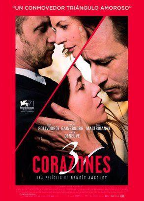 Ver Pelicula 3 Corazones Online Gratis Charlotte Gainsbourg Comedy Tv Catherine Deneuve