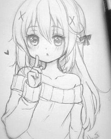 Drawing Anime Manga Beautiful Animegirl Schoolgirl Japan Japanese Asian Black Nice Mem Anime Drawings Sketches Anime Character Drawing Anime Sketch