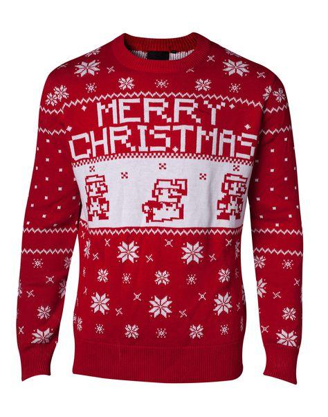 christmasspirit Jultröja Nintendo - Knitted...