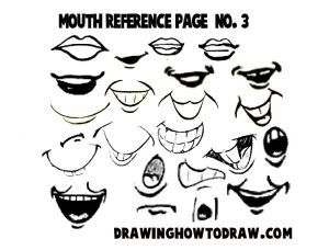 Photo of Drawing Cartoon & Illustrated Mouths & Lips Reference Sheets – How to Draw Step by Step Drawing Tuto
