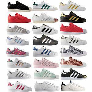Adidas Originals Superstar Children/Ladies Sneakers ...
