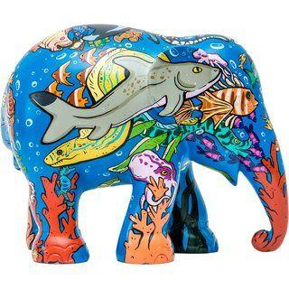 Elephant Parade Rainbow Reef Elefant Asiatischer Elefant Elefanten