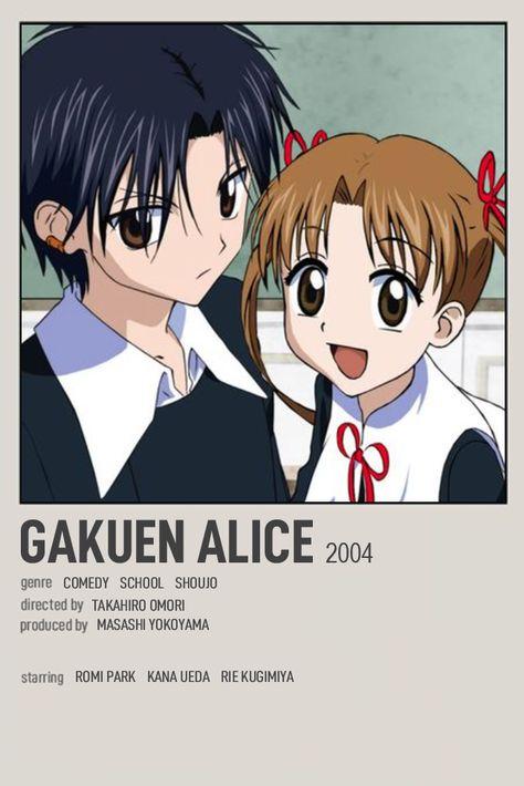gakuen alice anime