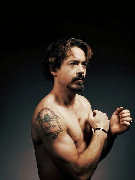 Rdj Tattoo : tattoo, Robert, Downey, Tattoo, Junior,