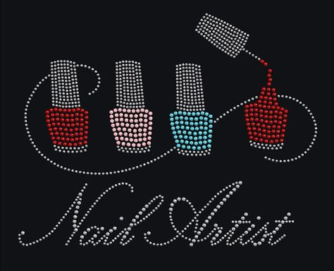 Nail Tech/ Nail Artist T-shirt or by GlitzyChicksCreation on Etsy