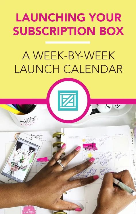 Countdown Calendar: A Weekly Breakdown of How to Launch a Subscription Business