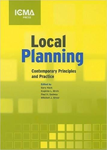 Local Planning Contemporary Principles And Practice 1st Edition Ebook Pdf Green Book Ebook Good Books