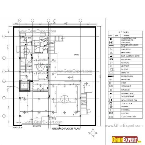 Image result for Electrical Wiring Diagram 3 Bedroom Flat | Plumbing  drawing, Electrical layout, How to planPinterest